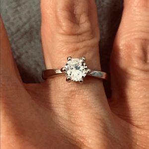Jewelry - New CZ 1.75 Kt Sterling Silver 925 Size 6.5